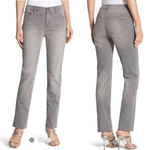 New Chico's So Lifting Slim Leg Stingray Jeans